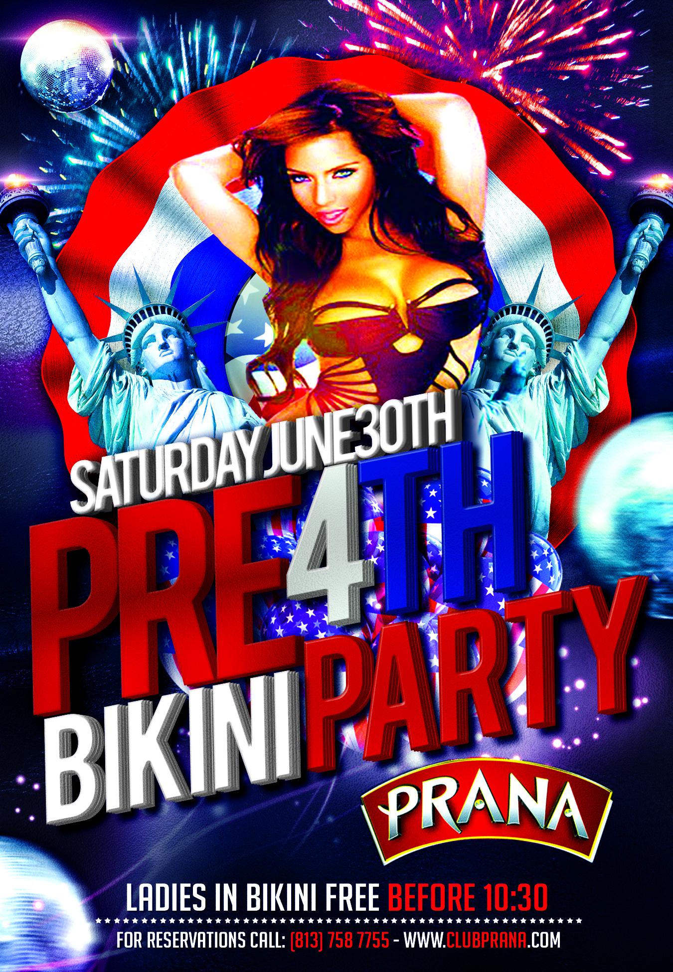 Pre 4th Bikini Party