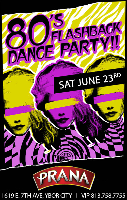 80's Flashback Dance Party