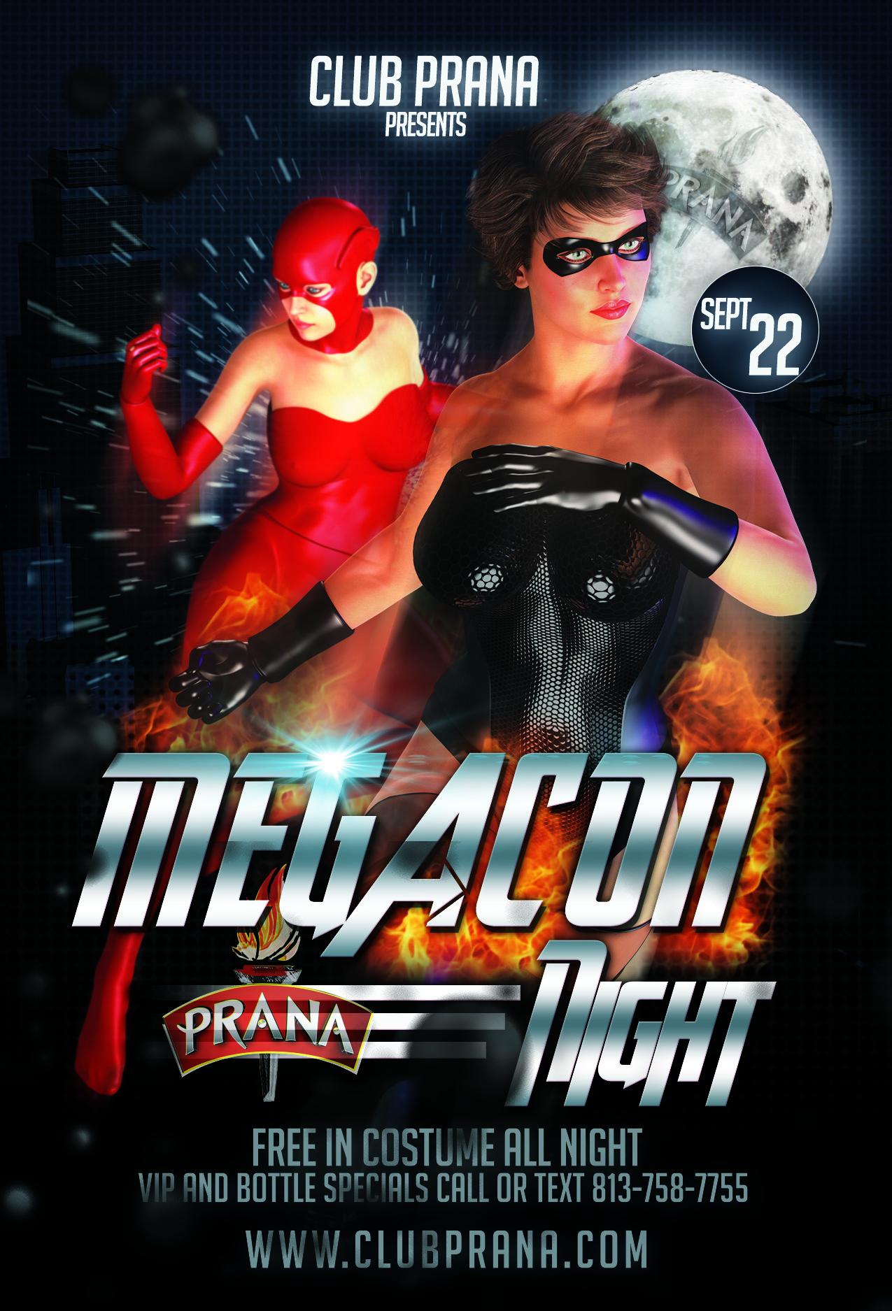 Megacon Night