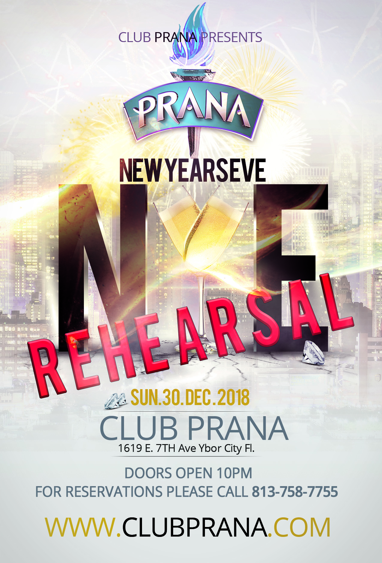 NYE Rehearsal Party