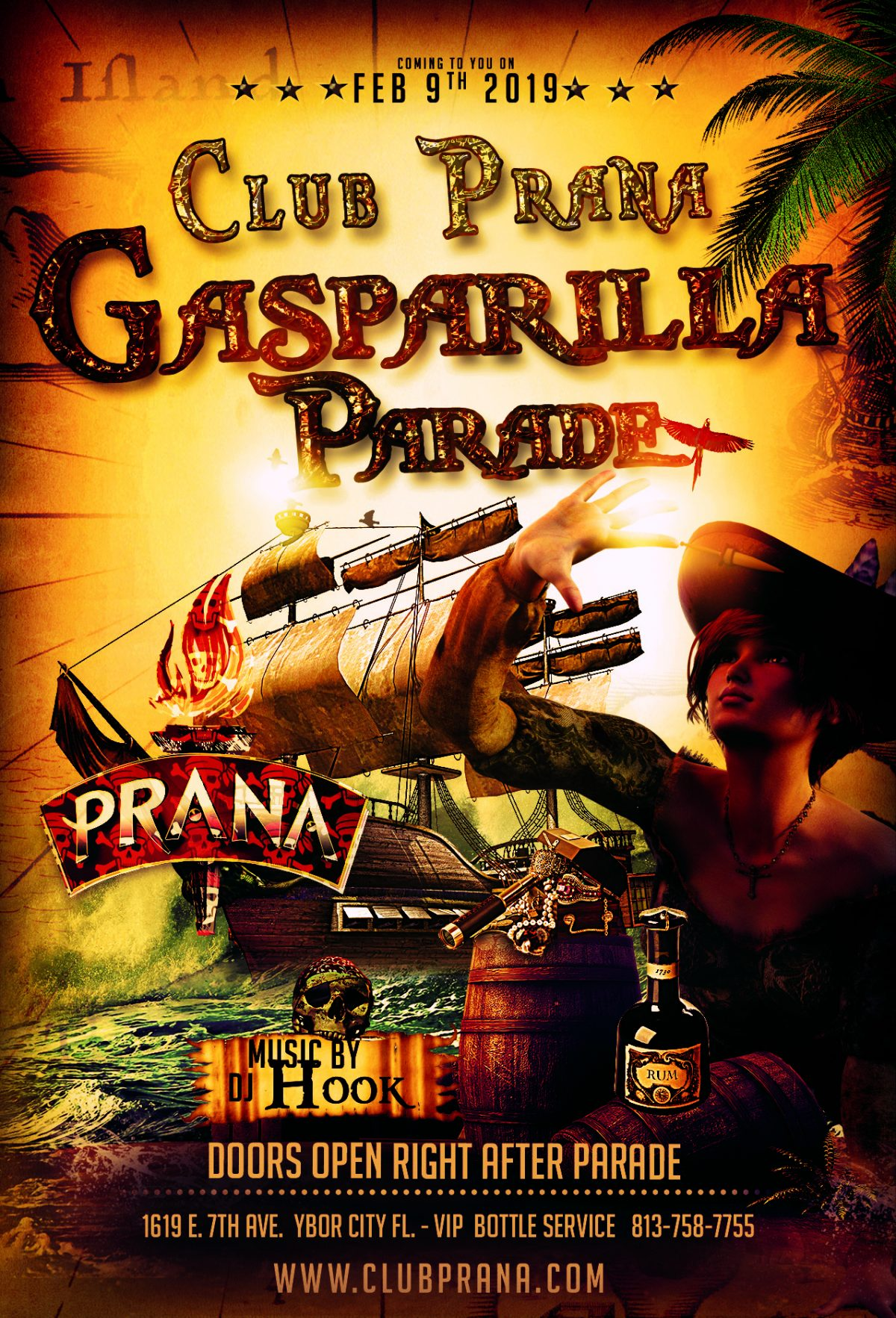 Gasparilla Knight Parade After Party