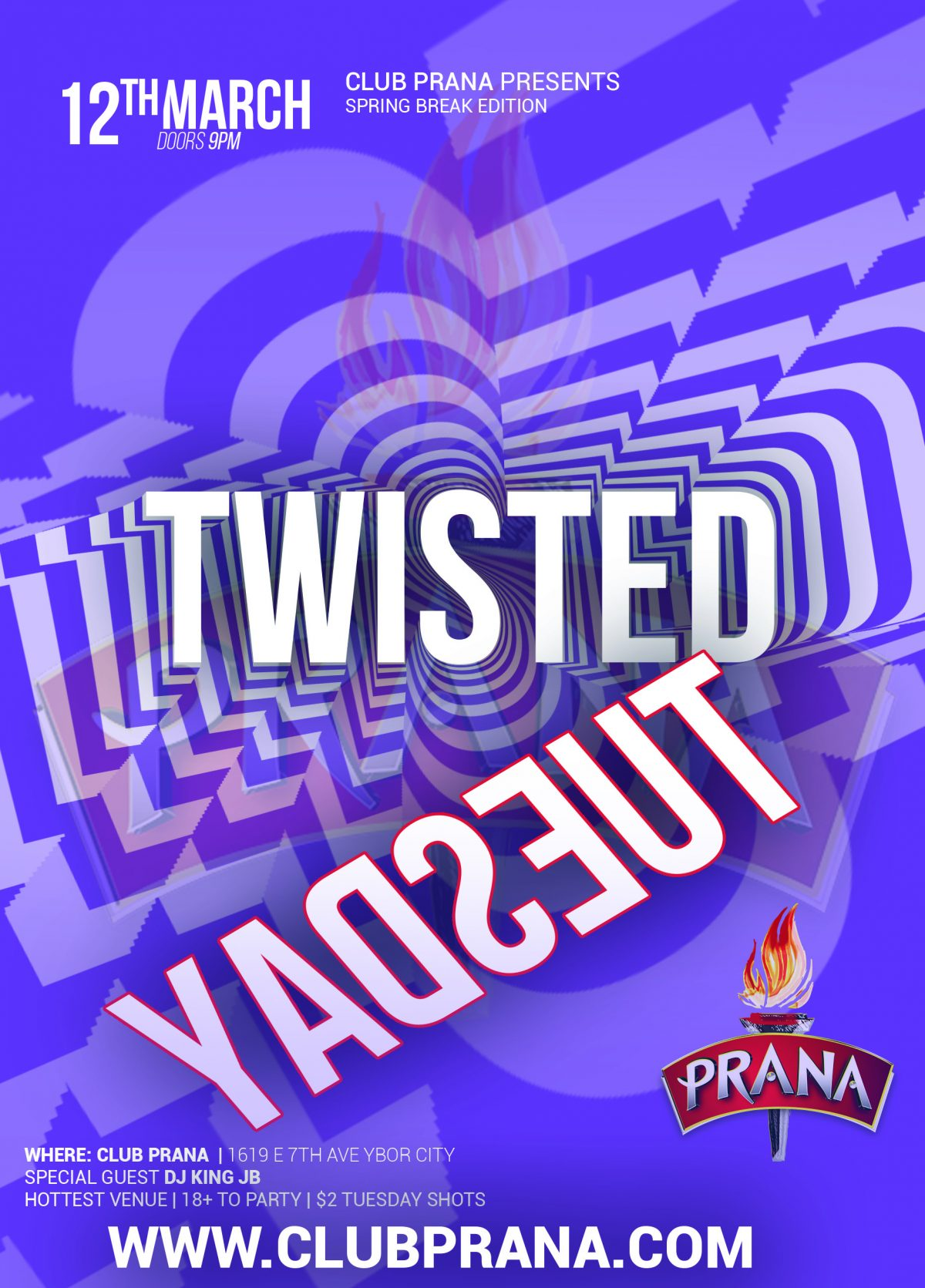 Twisted Tuesday: Spring Break Edition