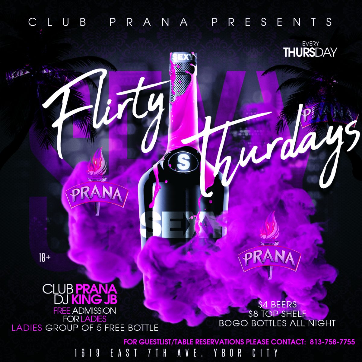 Club Prana | Tampa's Premier Night Club in Ybor City