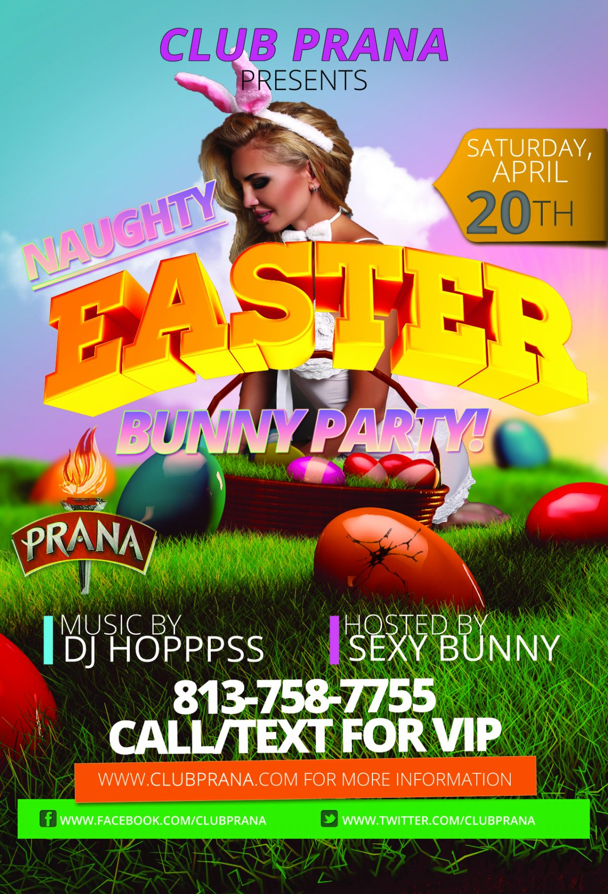 Naughty Easter Bunny Party