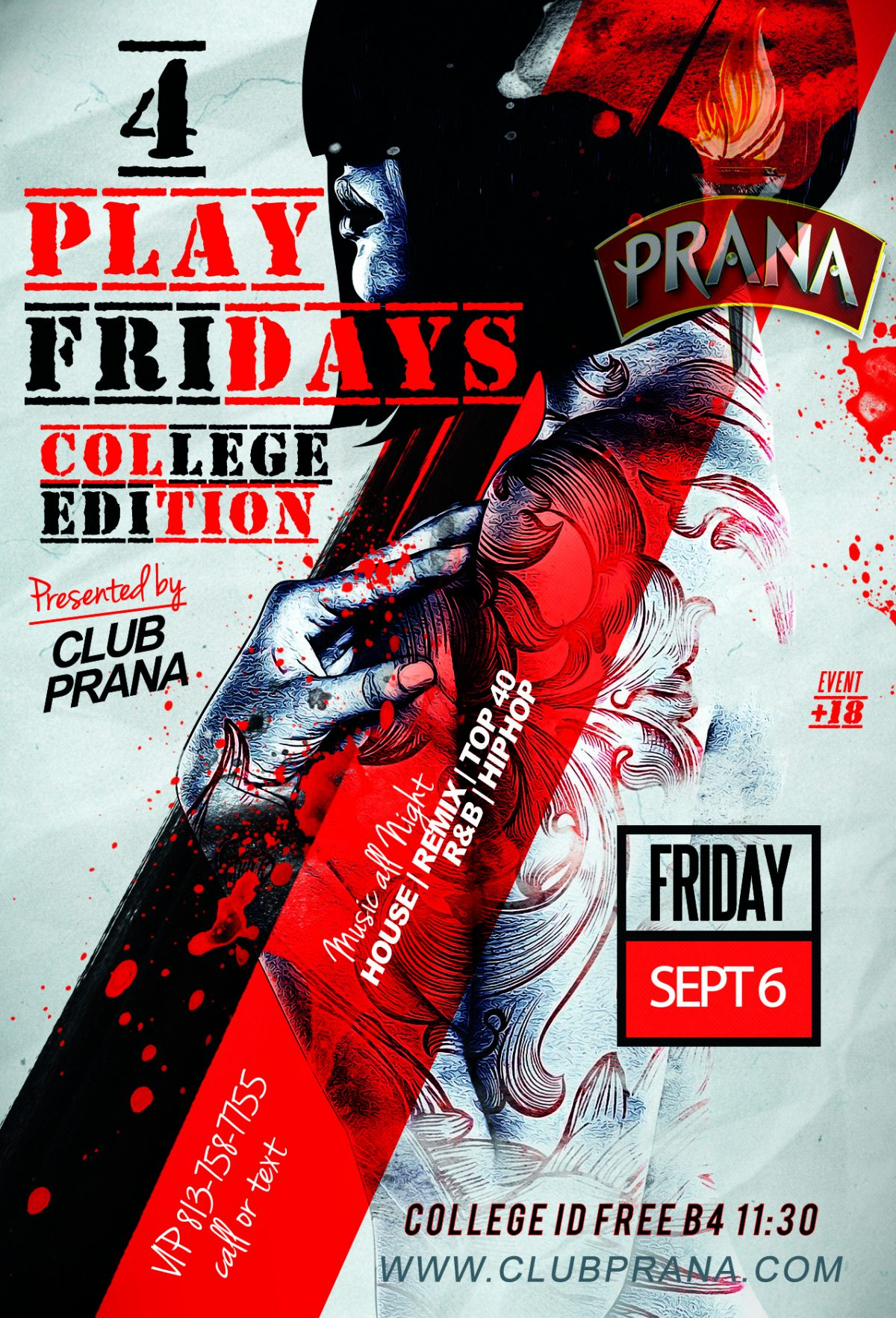 4Play Fridays College Edition