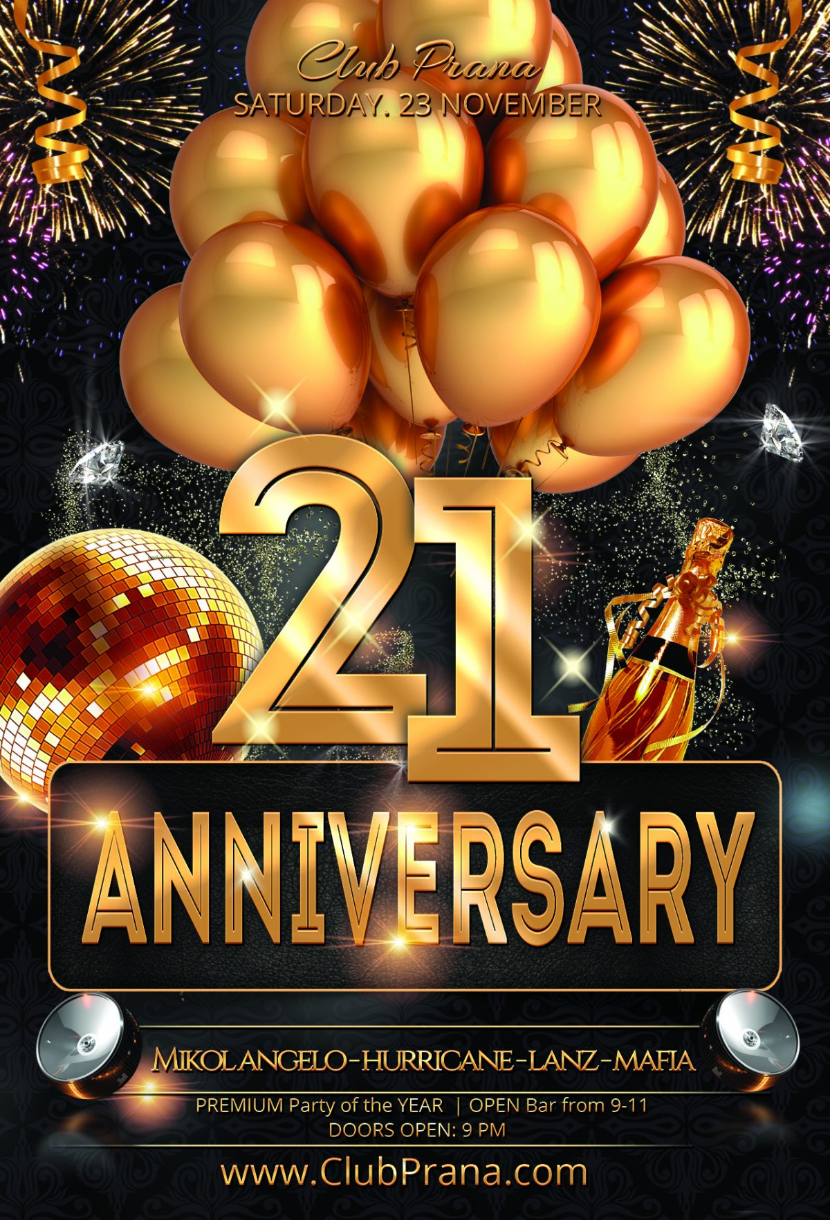 21st Year Anniversary Party