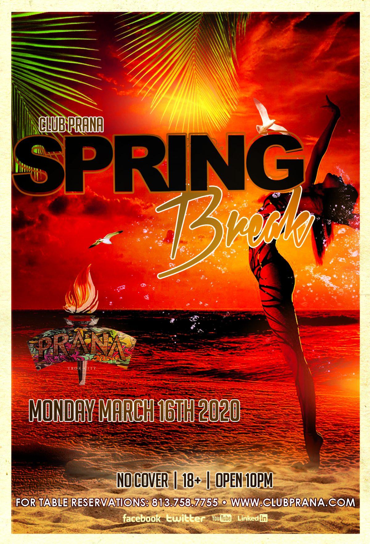 Spring Break: Monday