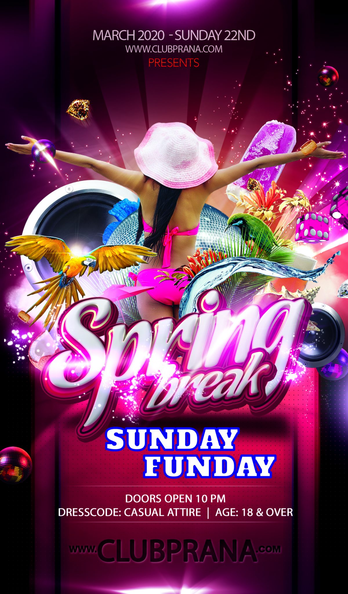 Spring Break: Sunday Funday
