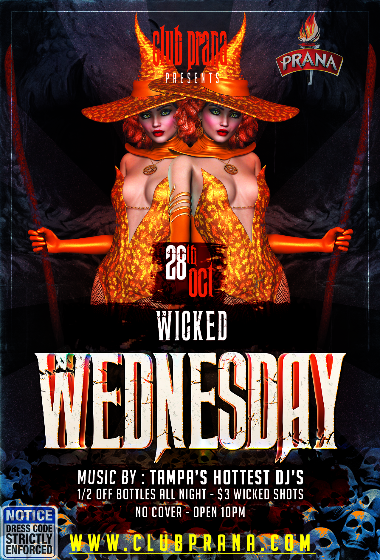 Wicked Wednesday At Club Prana