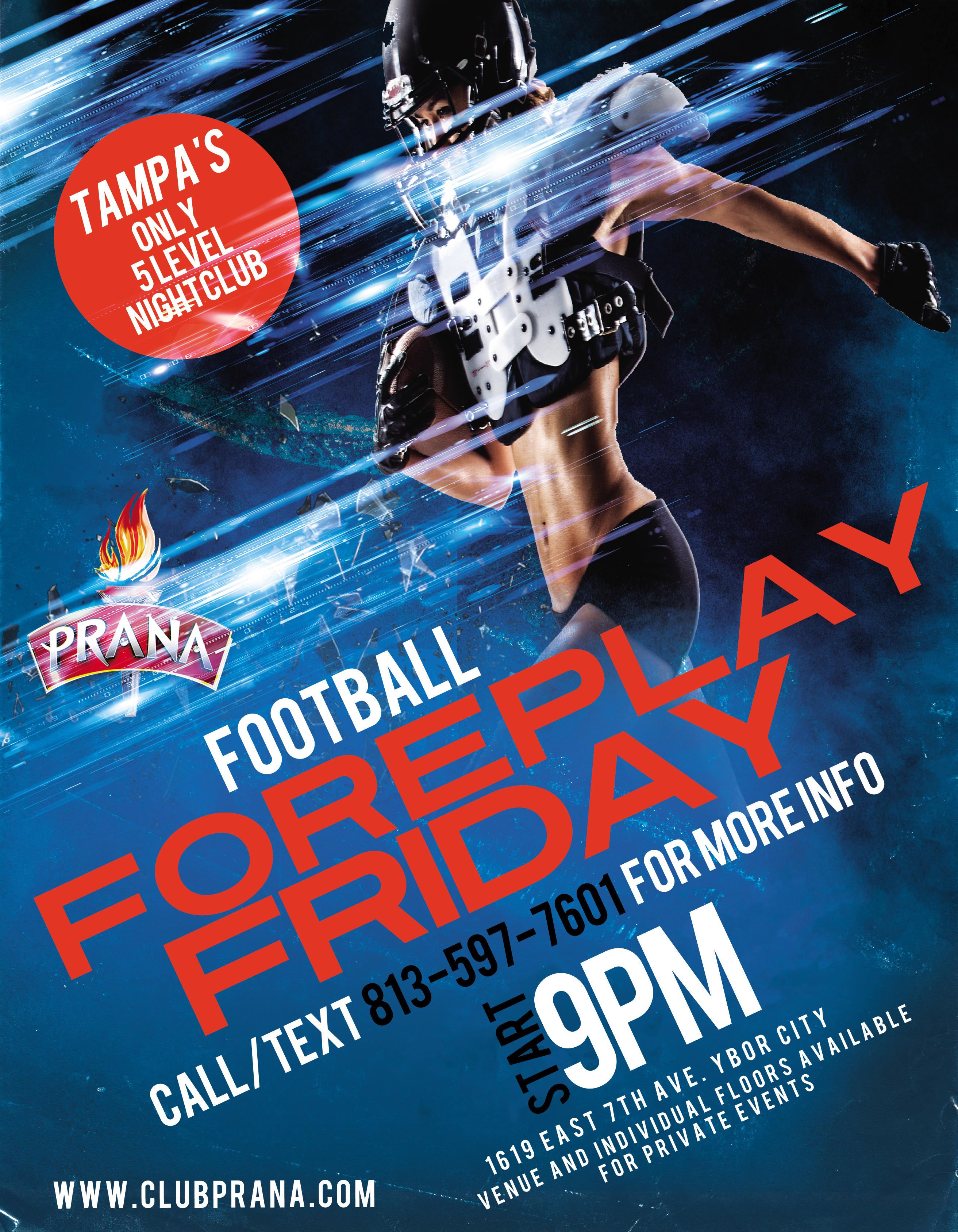 Football Foreplay Friday