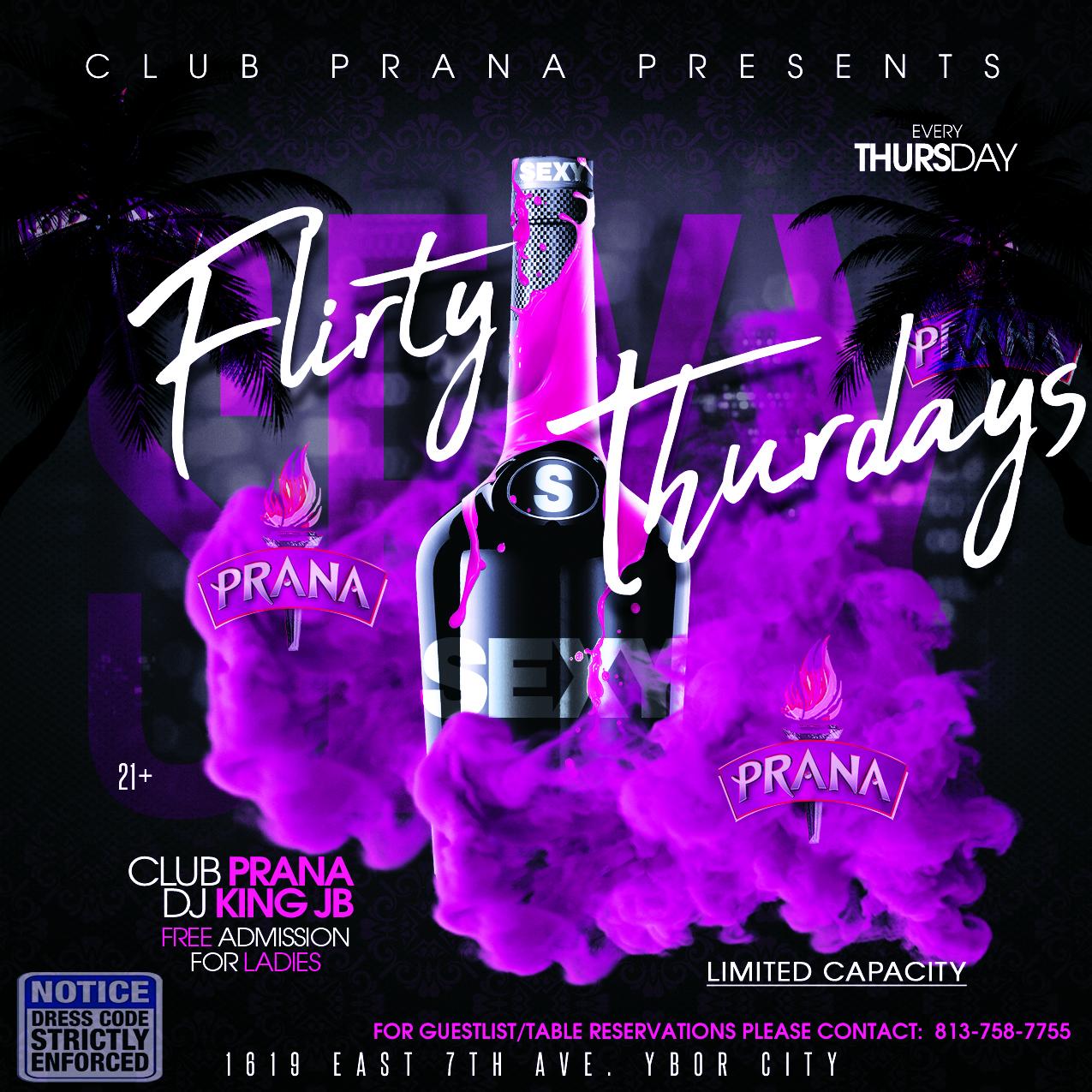 Flirty Thursday Spring Break At Club Prana