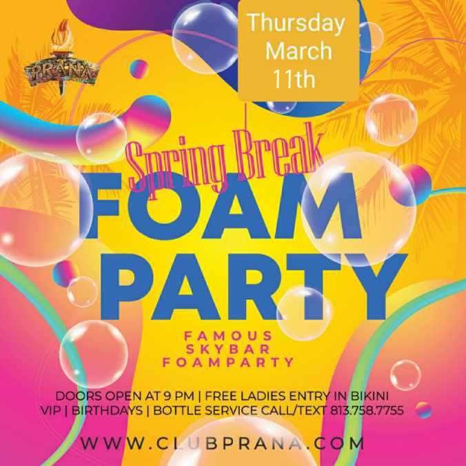 Rooftop Foam Party