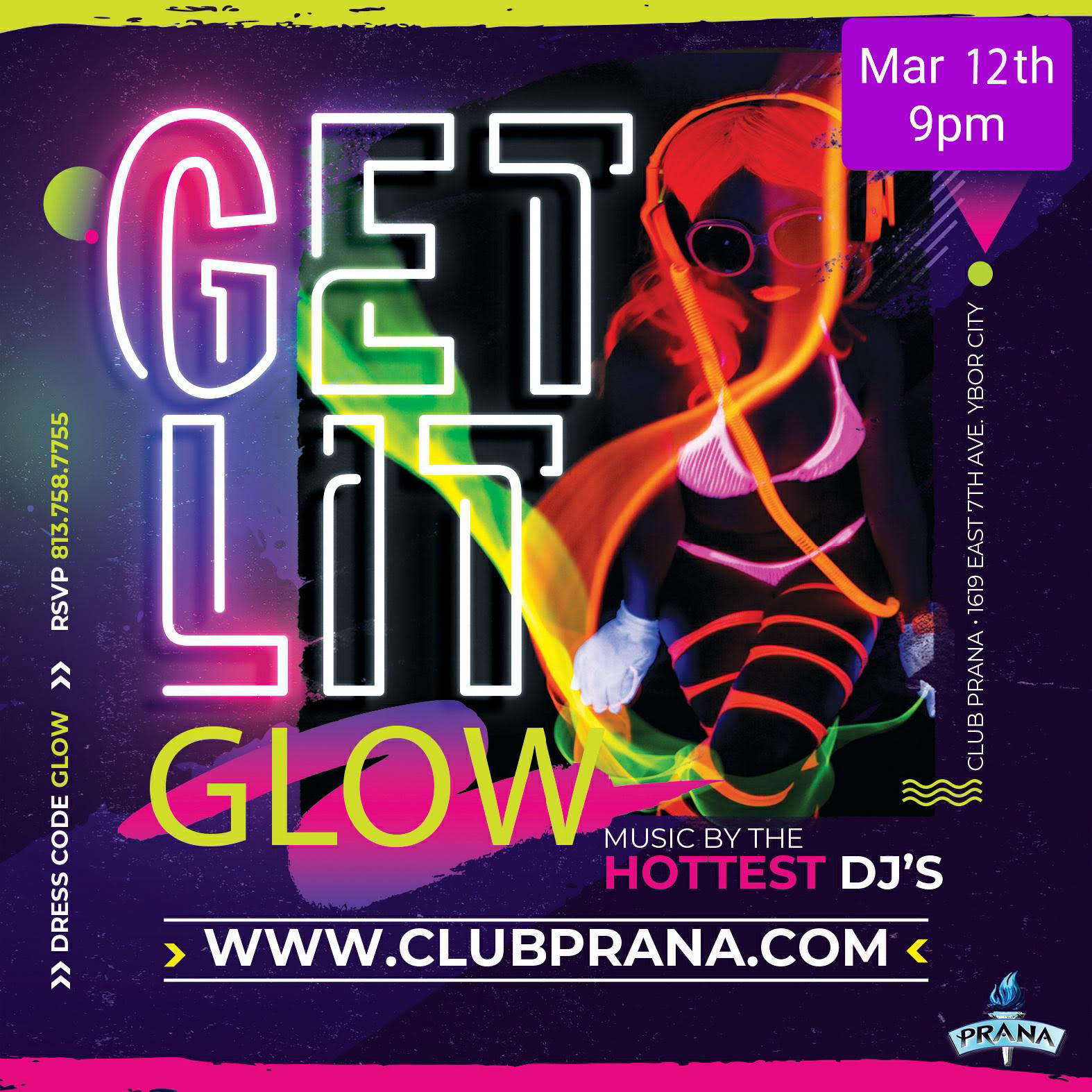 Get Lit Glow Party