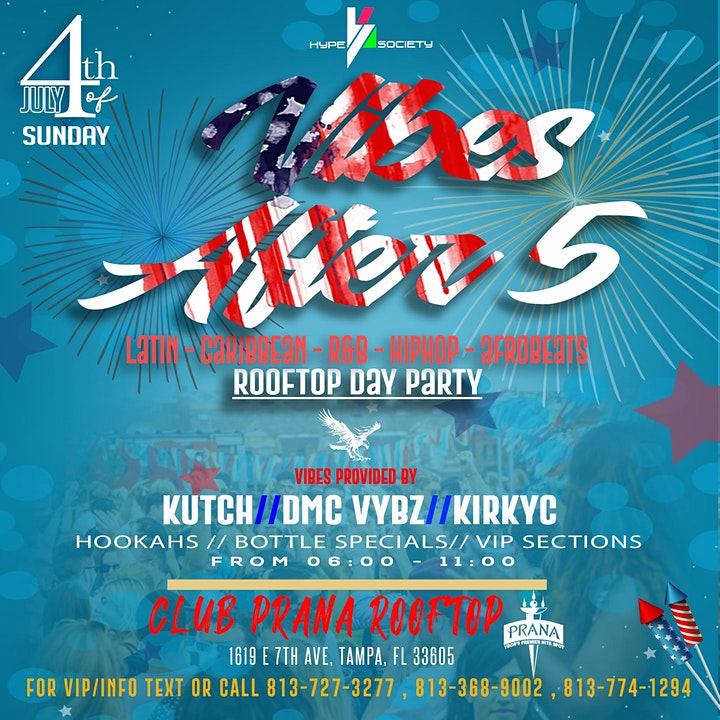 Vibes After 5 | July 4th Rooftop Day Party