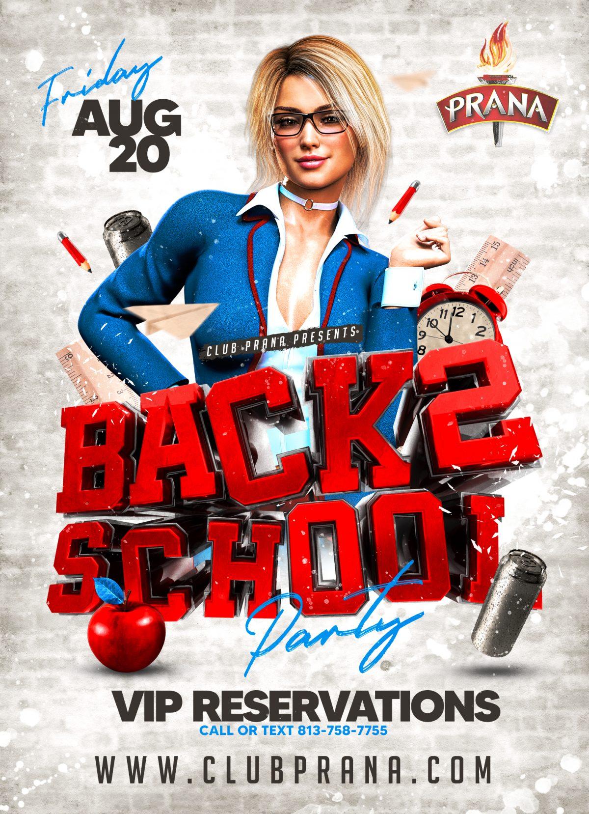 Back 2 School Party